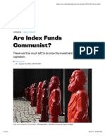 Are Index Funds Communist?