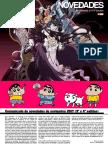 Novedades ECC Noviembre 2017 Manga y DC tercera y cuarta salida