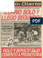 Portada Fortín Mapocho