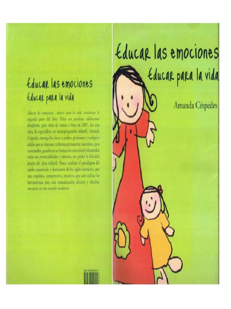 libro educar las emociones amanda cespedes pdf gratis