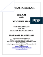Maryam Jameelah Islam and Modern Man