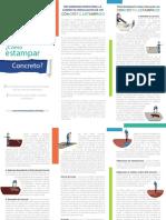 FOLLETO - Recomendaciones Para La Correcta Instalación de Concreto Estampado