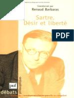BARBARAS, R. Sartre - Désir Et Liberté