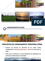 Ordenamiento Rural POT