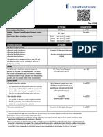 uhc vision v1006 benefit summary