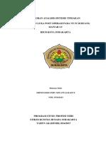 Laporan Analisis Sintesis Tindakan Perawatan Luka Post Sc