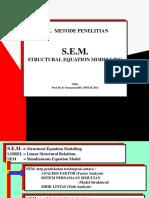 Metode Sem Structural Equation Modelling