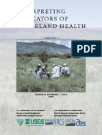INTERPRETING Indicators of Rangeland Health