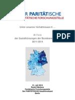 Atlas der Sozialkürzungen der Bundesregierung 2011-2014