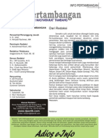 Info Pertambangan  Edisi 17 - 2007