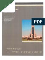 Undergraduate Course Catalogue_2017