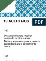 10 Acertijos