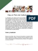 Hay Un Perú de Cultura Viva