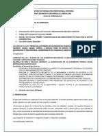 Guia_de_aprendizaje Desmontaje y Montaje de Elementos Mecanicos