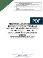 MEMORIAL DESCRITIVO SPDA- IFAL.docx
