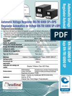 Brochure Regulador RN TRI 6000 5P 220 + TVSS