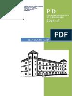 Programación Didáctica - 1º Ep