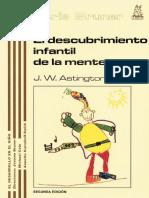 El descubrimiento infantil de la mente (2a. ed.) - J W Astigton.pdf