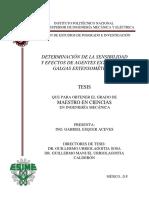 Determinacion de La Sensibilidad y Efectos de Agentes Externos en Galgas Extensometricas