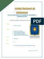 Finanzas Informe a Presentar