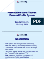 Thomas Presentation Eng
