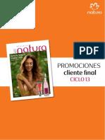 Promociones Natura Ciclo 13 2017