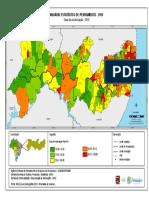 11.1 Taxa de Urbanizacao - Pernambuco