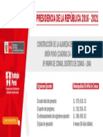 Banner Trabaja - Cartel