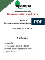 Unidade 1 - Sistemas de Coordenadas e Operadores Vetoriais