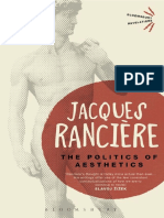 RANCIÈRE, Jacques. The Politics of Aesthetics, The Distribution of the Sensible.pdf