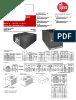 Rheem Tipo Dividido Comercial Solo Frio 220-3f-60h -31 Oct 2014 - Listo