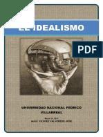 Idealismo y Su Relacion Con El Derecho