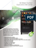 outdoor cold food chill vending machines gencf40odvm