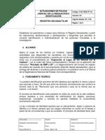 Registro Decadactilar - PJIC-RDE-PT-23 Definitivo 1