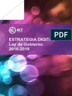 ACT Government Digital Strategy 2016 Full.en.Es