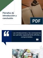 Párrafos introductorios y conclusivos.pptx