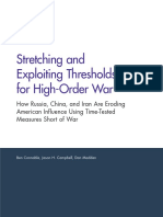 Stretching and Exploiting Threasholds for High-Order War