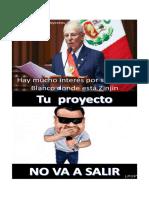Meme rio blanco- David Galvez