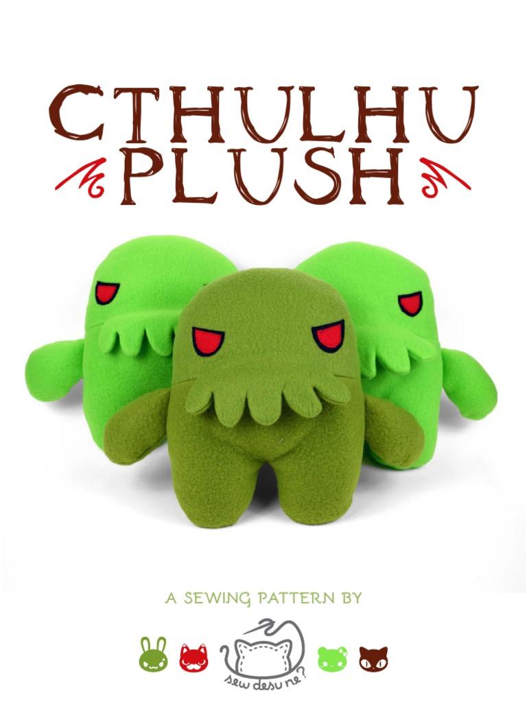 6bdbc3bab6019 Freebie Friday The Cthulhu Plush Choly Knight Sewing