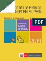 Derechos Delos Pueblos Indigenas Enel PeruMateriales de Capacitacion 2