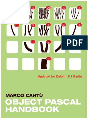 ObjectPascalHandbook_BerlinVersion pdf | Method (Computer