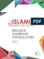 TDSB Islamic Heritage Month Resource Guidebook 2017