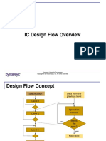 Module 0 Ic Design Flow Introduction University