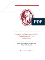 De La Puente. Virtud y Amor Propio en La Rochefoucauld