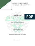 Practica 1 Estructura y Base de Datos