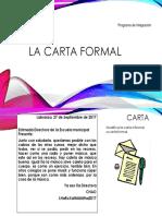 La Carta Formal