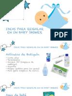 Ideas Para Regalar en Baby Shower