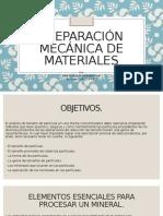 Preparación Mecánica de Minerales 2