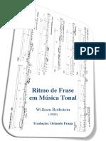 Ritmo de Frase-William Rothstein-Trad.orlando Fraga