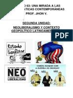 NEOLIBERALISMO Y CONTEXTO POLÍTICO LATINOAMERICANO